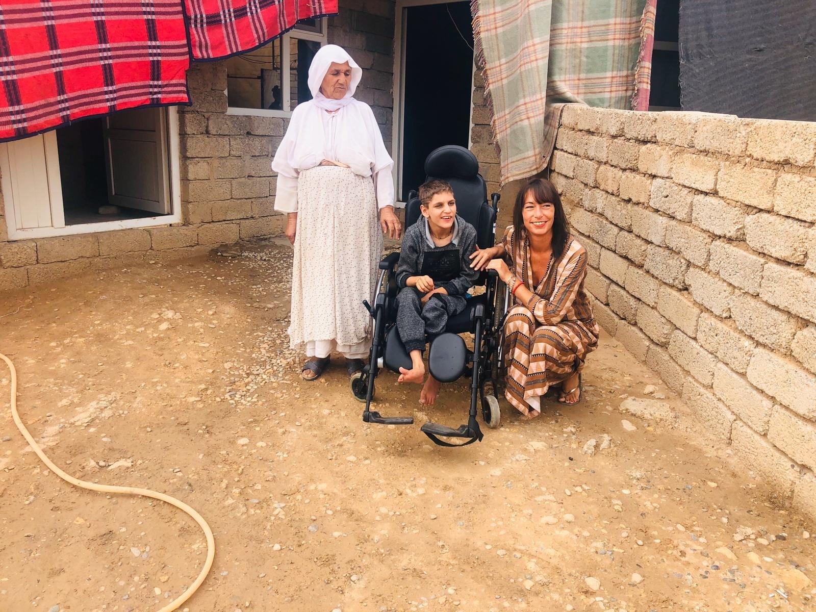 endlich ein Rollstuhl
